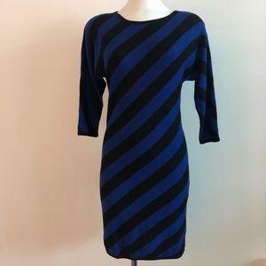 Trina Turk | Striped sweater dress | Bodycon | S